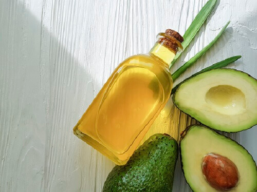Avocado oil and oil powder products