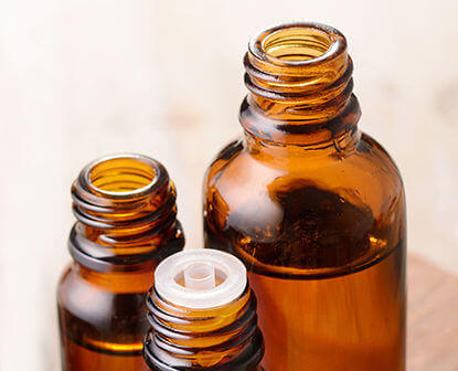 Bottles for oil & oil powder products