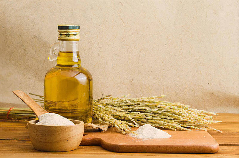 Rice bran oils & oil powders bulk supply & manufacture
